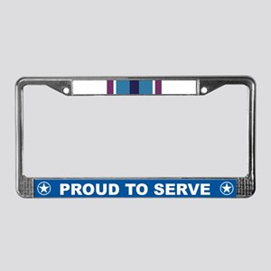 Humanitarian Service License Plate Frame