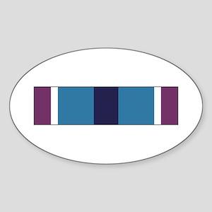 Humanitarian Service Oval Sticker