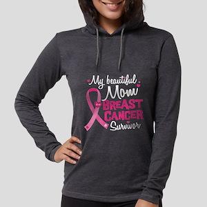 Mom Breast Cancer Long Sleeve T-Shirt