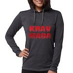 Krav Maga Womens Hooded Shirt