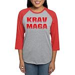 Krav Maga Womens Baseball Tee