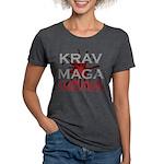 Krav Maga Womens Tri-blend T-Shirt