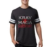 Krav Maga Mens Football Shirt
