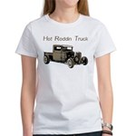 Hot Roddin Truck- Women's T-Shirt