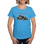 Hot Roddin Truck- Women's Dark T-Shirt