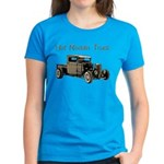 Hot Roddin Truck- Women's Dark T-Shirt