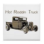 Hot Roddin Truck- Tile Coaster