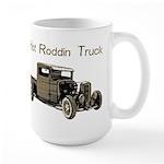Hot Roddin Truck- Large Mug