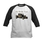 Hot Roddin Truck- Kids Baseball Jersey