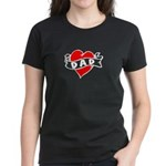 "Vintage Tattoo ""I Love Dad!"" Women's Dar"