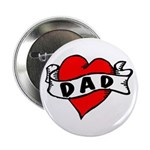 "Vintage Tattoo ""Dad"" 2.25"" Button ("
