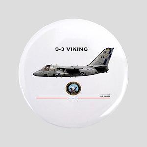 "S-3 Viking 3.5"" Button"