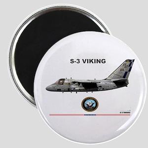S-3 Viking Magnet