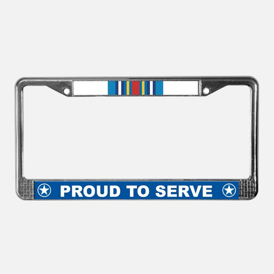 Global War Expeditionary License Plate Frame