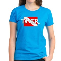 https://i3.cpcache.com/product/331990246/piratestyle_diver_flag_womens_dark_tshirt.jpg?side=Front&color=CaribbeanBlue&height=240&width=240
