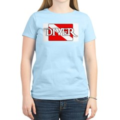 https://i3.cpcache.com/product/331990247/piratestyle_diver_flag_womens_light_tshirt.jpg?side=Front&color=LightBlue&height=240&width=240