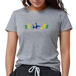Capoeira Womens Tri-blend T-Shirt