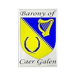 Caer Galen Rectangle Magnet