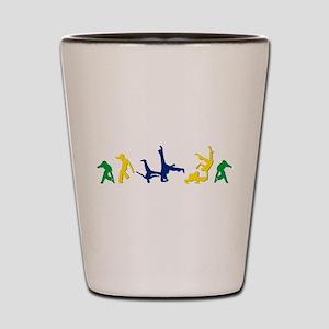 Capoeira Shot Glass