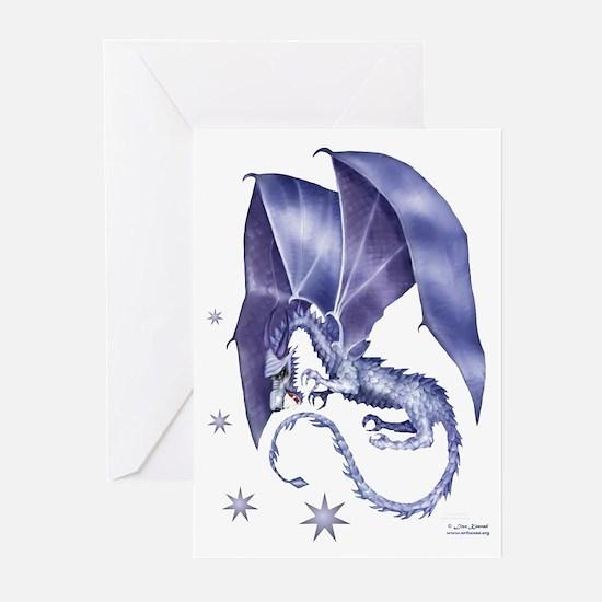 Blue Dragon Christmas Cards (Pk of 10)