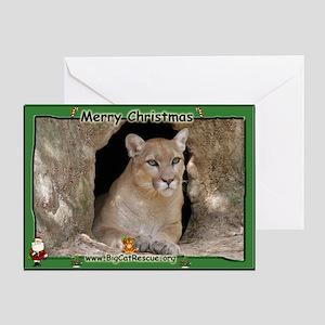 #012 Cougar Christmas Card