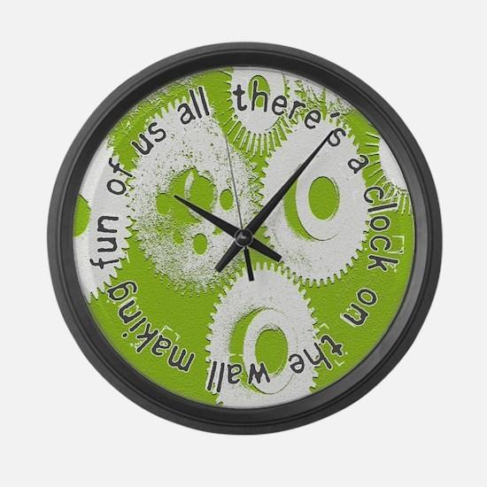 Morrissey Large Wall Clock