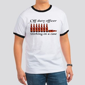 Off duty officer working on a Ringer T