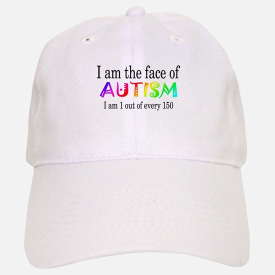 I Am The Face Of Autism Baseball Baseball Cap