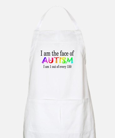 I Am The Face Of Autism BBQ Apron