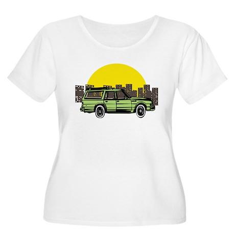 Wagon Women's Plus Size Scoop Neck T-Shirt