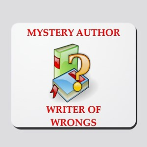 author and writers joke Mousepad