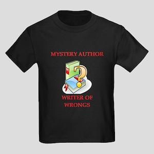 author and writers joke Kids Dark T-Shirt