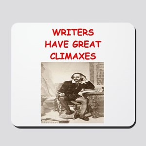 author and writers joke Mousepad