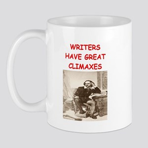 author and writers joke Mug