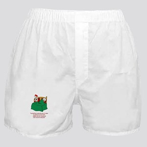 He Knows When You've Been Sleeping Boxer Shorts