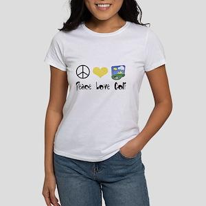 Peace Love Golf Women's T-Shirt