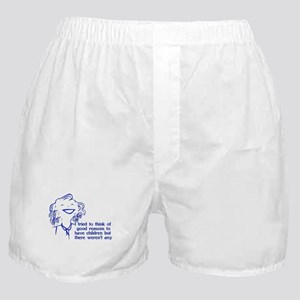 Reason For Child-Free Boxer Shorts