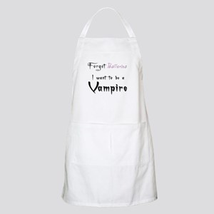 I want to be a Vampire-Baller BBQ Apron