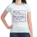 Dom Helder Camara quote Jr. Ringer T-Shirt