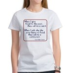 Dom Helder Camara quote Women's T-Shirt