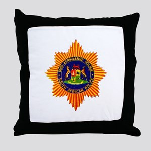 South Africa Police Throw Pillow