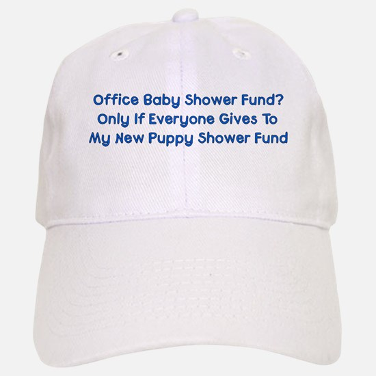 Puppy Shower Fund Baseball Baseball Cap