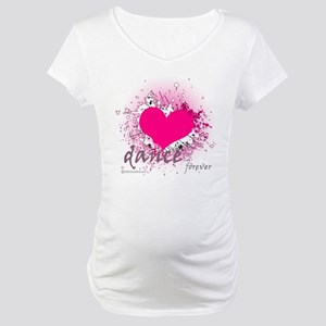 Love Dance Forever Maternity T-Shirt