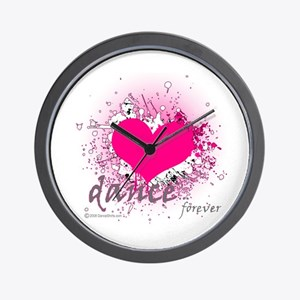 Love Dance Forever Wall Clock