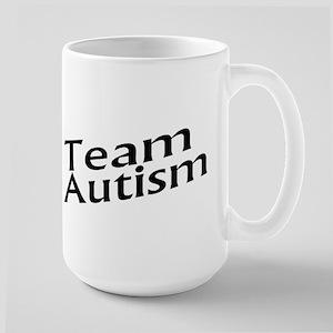 Team Autism Large Mug