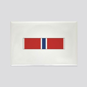 Bronze Star Rectangle Magnet