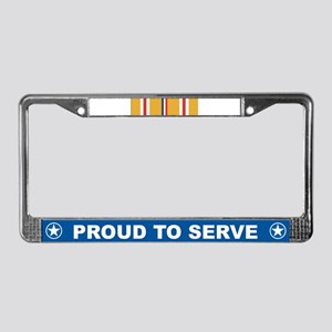 Asiatic-Pacific Campaign License Plate Frame