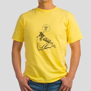 Birdwolf Yellow T-Shirt