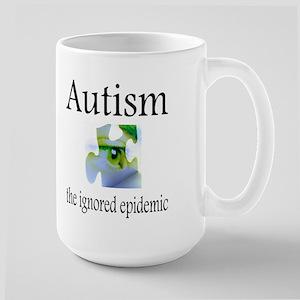 Autism, The Ignored Epidemic Large Mug