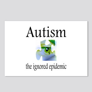 Autism, The Ignored Epidemic Postcards (Package of